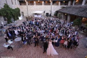 castello di felino osteria del 36 wedding italian bride