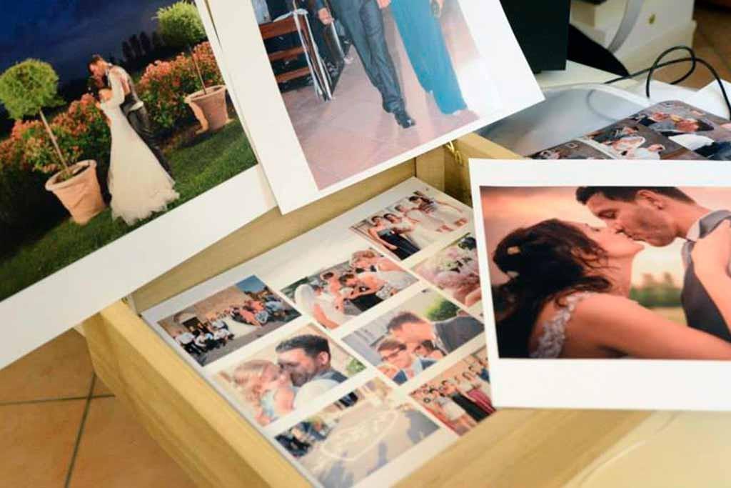album di matrimonio artigianale