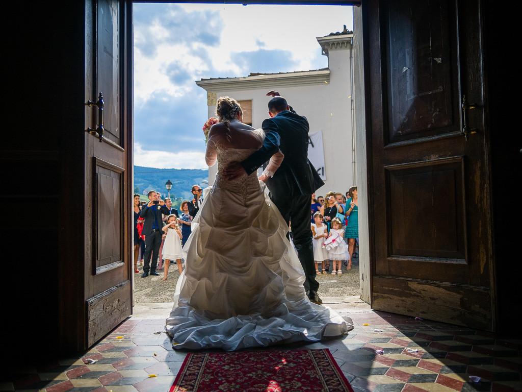 fotografia di matrimonio non in posa