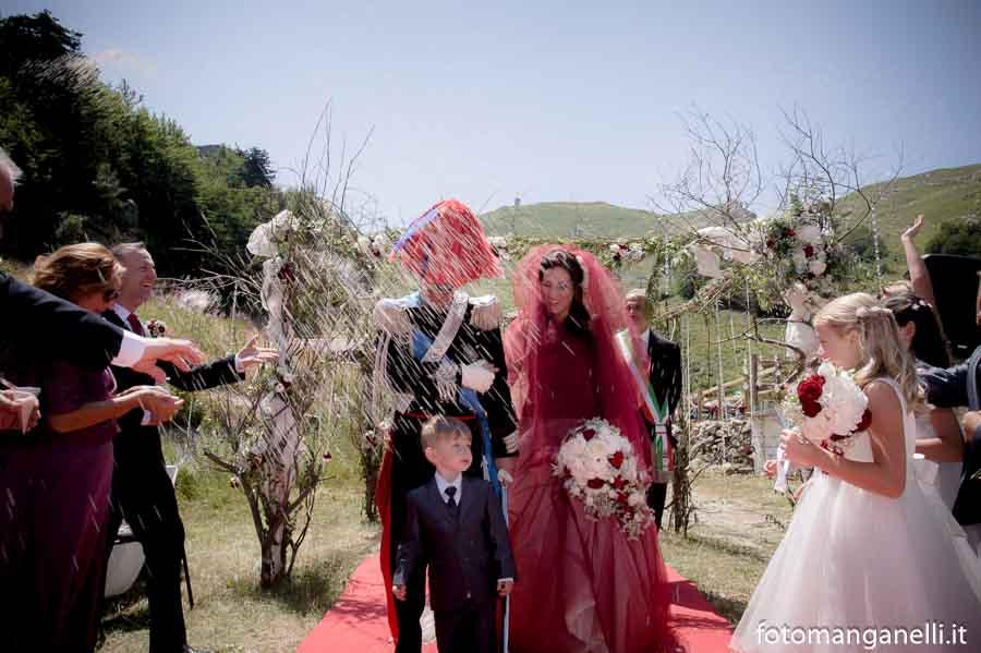 cerimonia matrimonio carabiniere