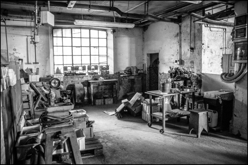 fotografo industriale fabbrica metallo