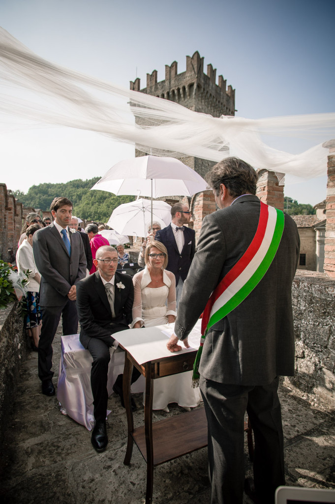 fotografo di matrimoni al castello